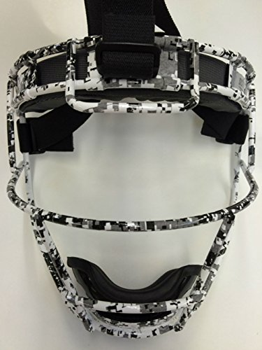 Adult Custom Schutt Digital Camo Infielder Face Guard by Scutt