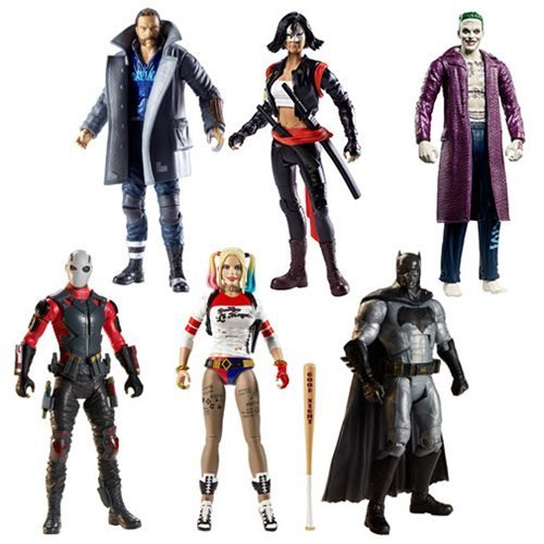 DC Multiverse Suicide Squad 6-Inch Figure Wave 3 Set of 6