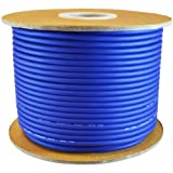 GLS AUDIO Bulk Microphone Cable 300' Blue Mic -300ft Signal mike cable