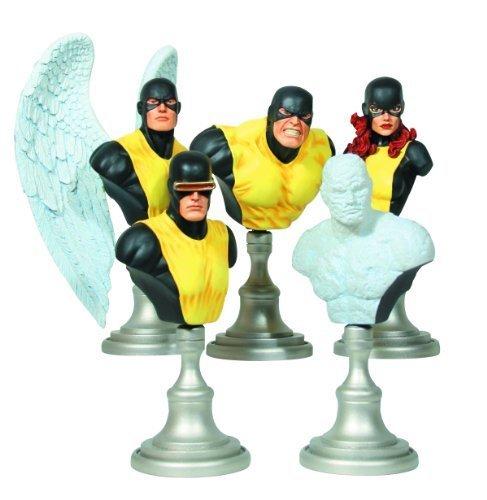 (Bowen Designs Original X-Men Mini-Busts, 5-Pack by Bowen Designs)