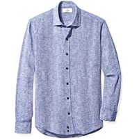 Buttoned Down – Chaqueta slim fit spread-collar Lino Patrón Deporte Camisa