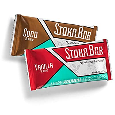 Stoka Bars Vanilla Almond