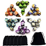 Book cover from Smartdealspro 6 x 7 Sets(42 Pieces) Two Colors Polyhedral Dice with Free Pouches for Dungeons and Dragons DND RPG MTG Table Games D4 D8 D10 D12 D20 by Wizards RPG Team