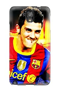 High-quality Durable Protection Case For Galaxy Note 3(david Villa Barcelona )
