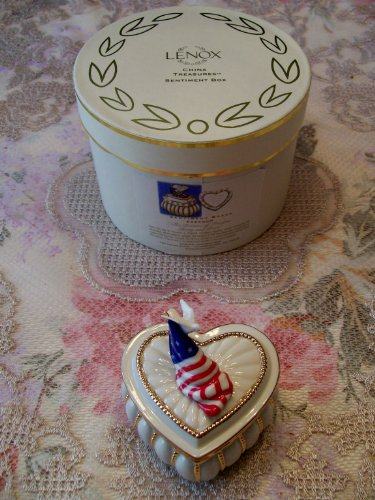 Lenox China Treasures Sentiment Box