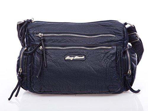 Bag Street - Bolso cruzados de Material Sintético para mujer azul azul
