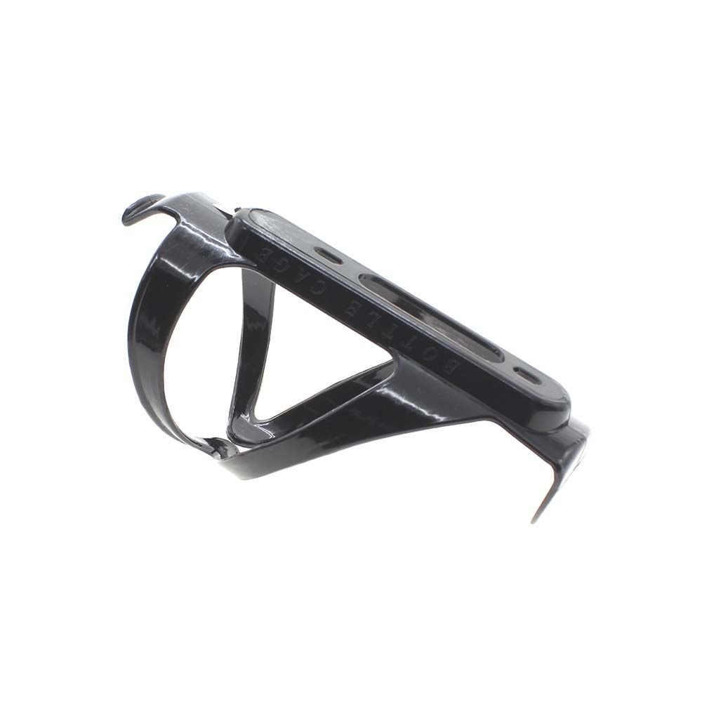 VANKER Botella de agua de la jaula del bicicleta de ciclo MTB PC tubo taza de agua de la ayuda del sostenedor de herramienta(Negro)