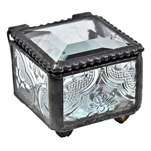 small glass ring box - 1
