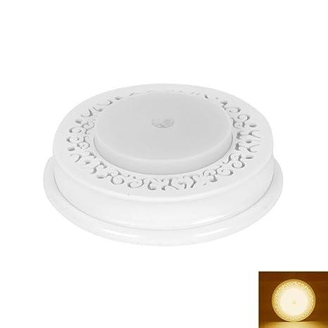 KOBWA Luz Nocturna LED con Detector de Movimiento, luz de Emergencia, Auto on/