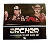 Archer Red Beer Glass Set Since 1844 Loot Crate