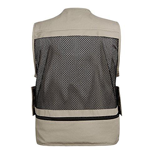 DDDFVVDS MJJ Multi Multi Multi Pocket Weste Vest. Freizeithocker Fischerhocker Vest. Xinhua Regisseur Westen Outdoor B01JYVL5ZE Westen Mode-Muster 4b9e78
