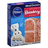 Pillsbury Cake Mix Moist Supreme Strawberry, 15.25 oz