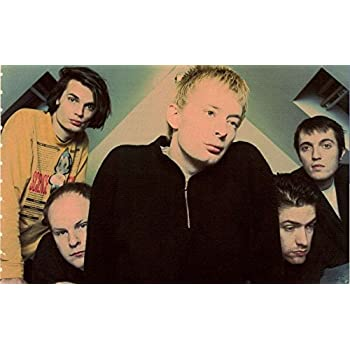 Get Motivation Radiohead English Rock Band from Abingdon Thom Yorke Jonny Greenwood Ed OBrien Colin Greenwood Philip Selway 12 x 18 inch Poster