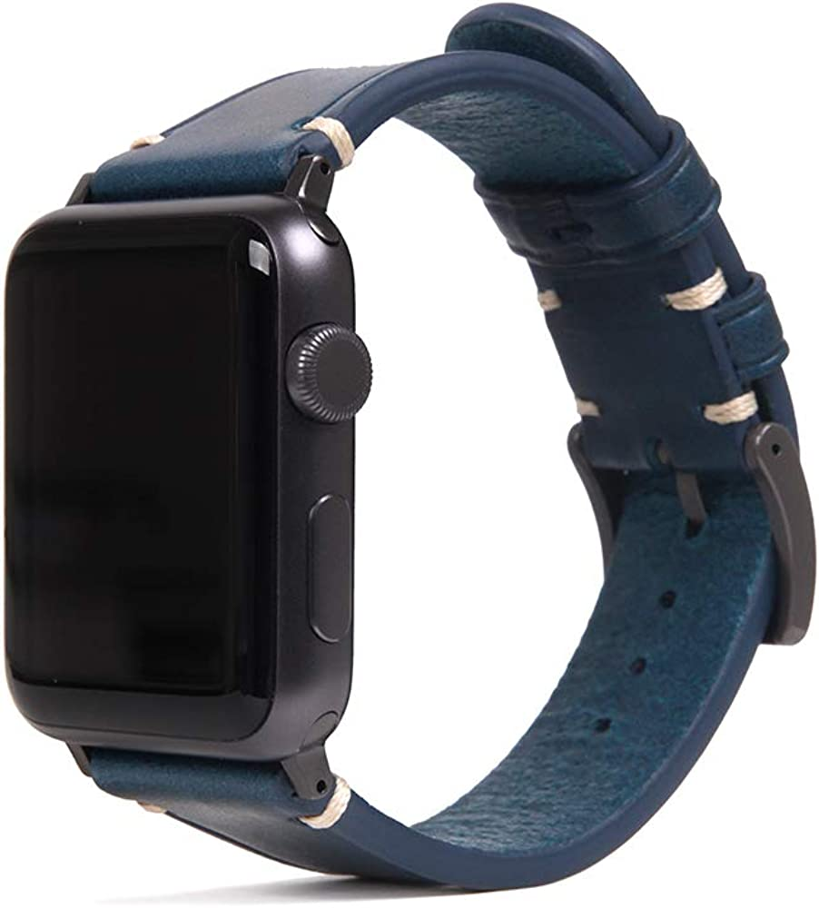 SLG D7 Italian Buttero Leather Strap for Apple Watch