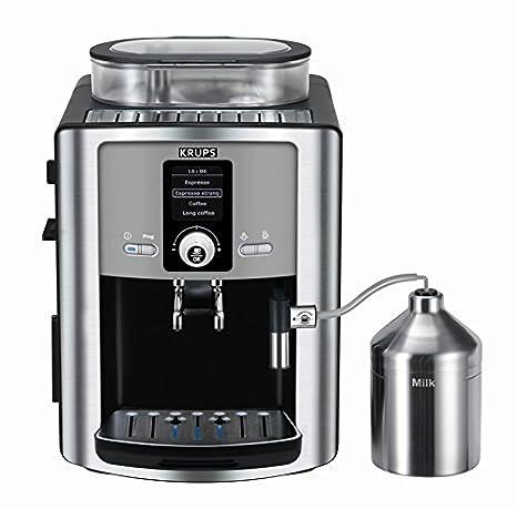 Krups EA8050 - Cafetera (Independiente, Totalmente automática, Espresso machine, Granos de café