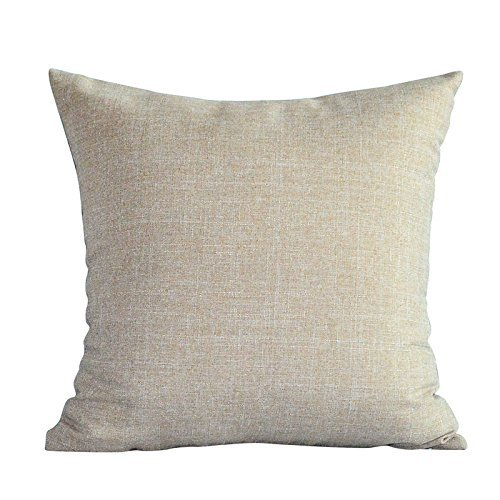 HOMEE Modern and Minimalist Upscale 4.5-60S Ma Pure Color Atmospheric Pillow Pillow Side Sleeper Candy Pillow ,30X50Cm, Khaki,Khaki,40X40cm