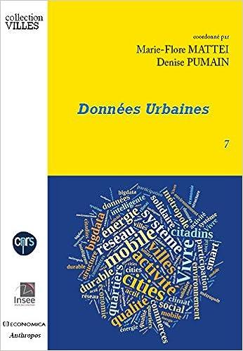 Livres gratuits Données urbaines pdf