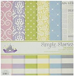 Simple Stories Enchanted Simple Basics Kit (6 Pack)