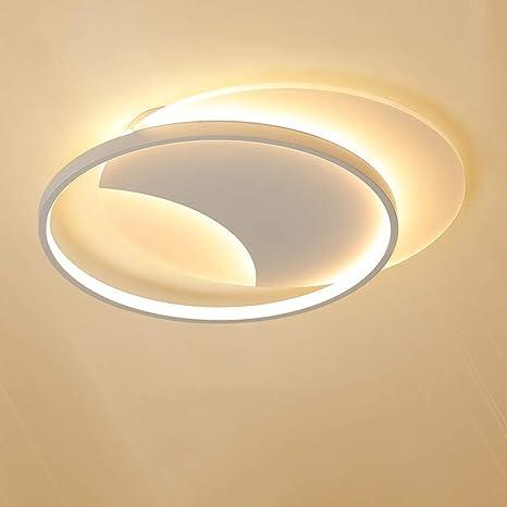Lámpara de doble domo LED Blanco Amarillo Luz cálida Hierro ...