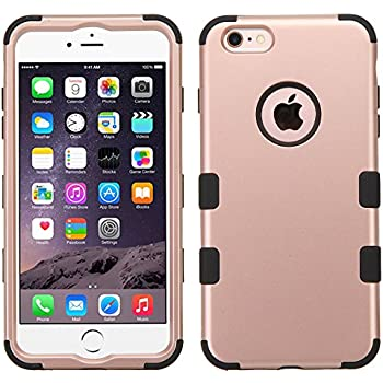 62d9af9ae3f805 HD Accessory Mybat Military Grade TUFF Hybrid Case for iPhone 6 Plus   6S  Plus - Rose Gold