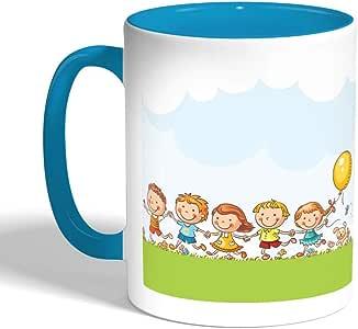 مج سيراميك للقهوة أو الشاي، ماركة ديكالاك، mug-TRQ-02221