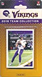 #5: Minnesota Vikings 2018 Donruss NFL Football Factory Sealed Limited Edition 12 Card Complete Team Set Kirk Cousins, Stefon Digs, Dalvin Cook, Hall of Famer Cris Carter & Many More! WOWZZER