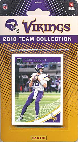 Minnesota Vikings 2018 Donruss NFL Football Factory Sealed Limited Edition 12 Card Complete Team Set Kirk Cousins, Stefon Digs, Dalvin Cook, Hall of Famer Cris Carter & Many More! WOWZZER