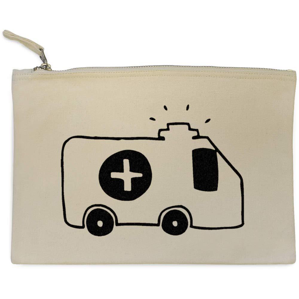 Accessory Case CL00005911 Ambulance Canvas Clutch Bag