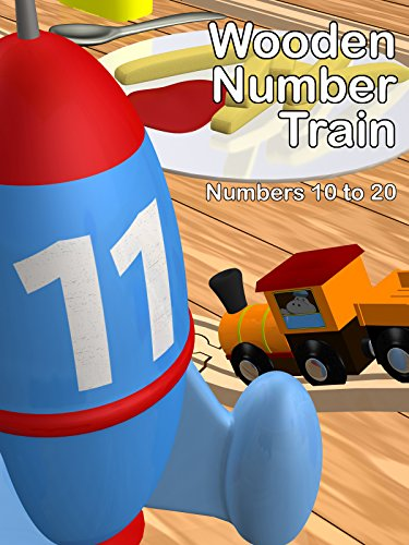 Wooden Number Train - Numbers 10 to 20 ()
