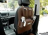 Super PDR PU Leather Car Seat Back Organizer