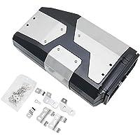 Romacci Caixa de ferramentas para motocicleta Suporte lateral esquerdo caixa de alumínio adequada para BMW R1250GS…