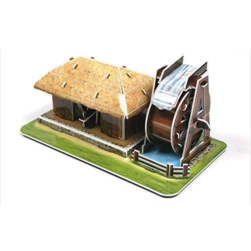 激安通販 ttokttak韓国伝統3dソリッドペーパーパズルWatermill B07D7JG5XW B07D7JG5XW, きもの市場あんのん:27606996 --- a0267596.xsph.ru
