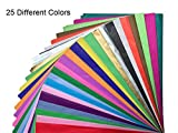 Tissue Paper Gift Wrap Bulk All Colors Wrapping 100 200 300 or 500 Sheets 15 x 20 Assorted Black Blue Fuchsia Gold Green Orange Pink Purple Red Silver White Yellow