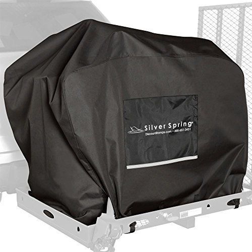 (Water-Resistant Mobility Scooter Hitch Carrier Travel Cover)
