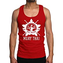 Young Motto Men's MUAY THAI MMA BOXING STAR Tank Top