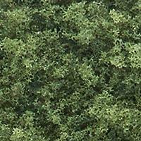Agitador de césped grueso, verde medio /50 pies cúbicos en.