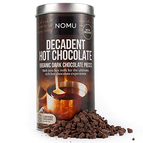 NOMU Decadent Dark Hot Chocolate (8.82oz) - Real Chocolate Pieces