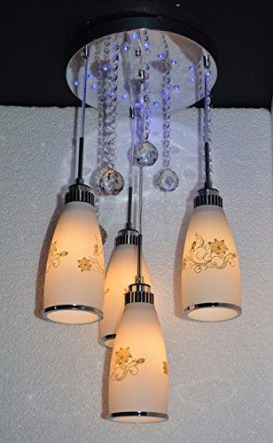 (Aisle Adhering the veranda restaurant is light modern minimalist glass chandeliers 3 head,c-YU&XIN)