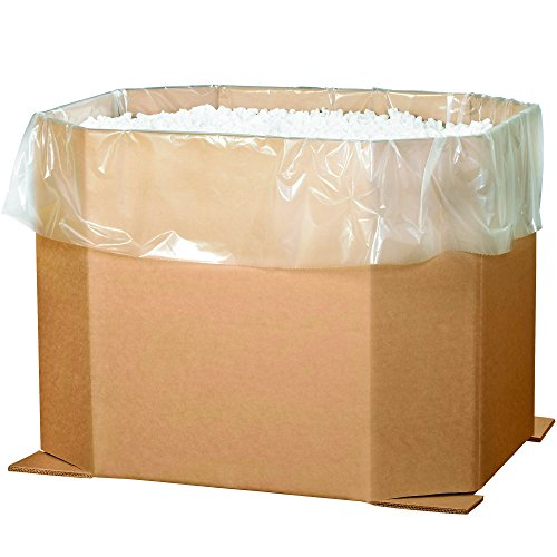 Aviditi 463836OCT Triple Wall Octagon Corrugated Bulk Bin, 46'' Length x 38'' Width x 36'' Height, Kraft (Bundle of 5) by Aviditi