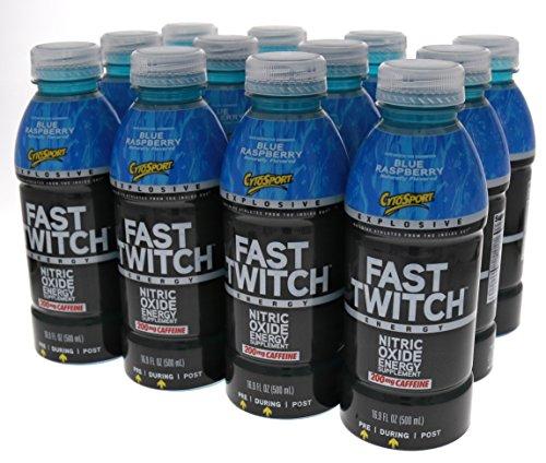 CytoSport Fast Twitch Blue Raspberry product image