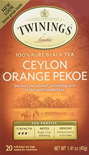 Orange Pekoe Black Tea - Twinings of London Ceylon Orange Pekoe Tea (Box of 20)