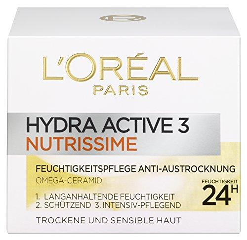 L'Oréal Paris Dermo Expertise Hydra Active 3 Nutrissime Tag, 1er Pack (1 x 50ml)