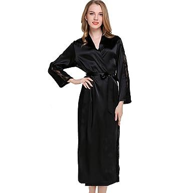 1e8904fd76 LOVEHOUSE Womens Kimono Bathrobe Long