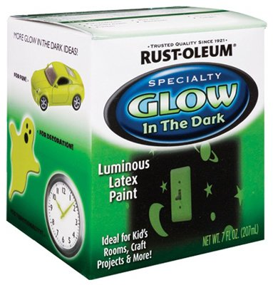 Rustoleum Glow-In-The-Dark Paint