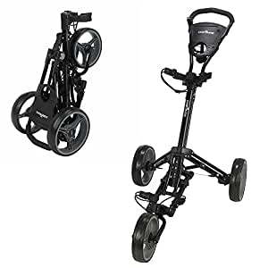 Amazon.com : Caddymatic Golf X-Lite One-Click Folding Pull/Push Golf Cart Black : Sports & Outdoors