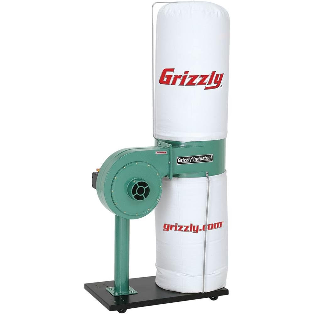 Grizzly G8027 1 HP Dust Collector