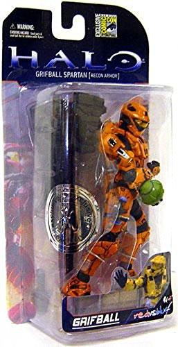 Halo 3 McFarlane Toys Series 5 (2009 Wave 2) SDCC San Diego Comic-Con Exclusive Action Figure Grifball Spartan