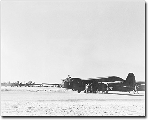 WWII Waco CG-4A Glider Airborne Transport 8x10 Silver for sale  Delivered anywhere in USA