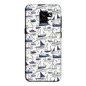 Cover It Up - Harbour Print Galaxy A5 2018Hard Case