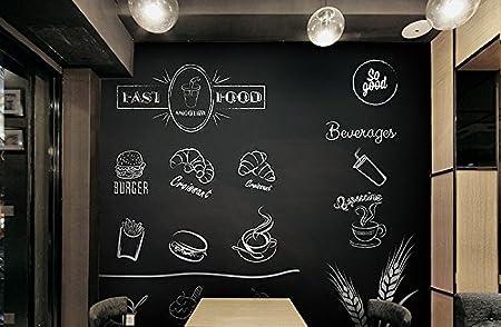 Cusfull 1 Pcs Pizarra Blanca Tiza Autoadhesiva Pegatina de Pared Frigor/ífico para Ni/ños Calendario Planificador en Oficina Restaurante Papel de Pizzara Despegable Infantil 90cm*200cm